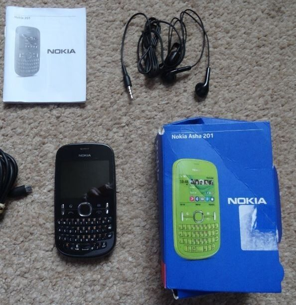 Nokia Asha 201 on 02 on30in High Wycombe, BuckinghamshireGumtree - Nokia Asha 201 mobile phone. been used on O2 Networks and is not unlocked. Included are Mobile phone Nokia 201 instruction booklet charger lead ear phones and the box it came in. camera phone cash on collection in high wycombe 07881370037