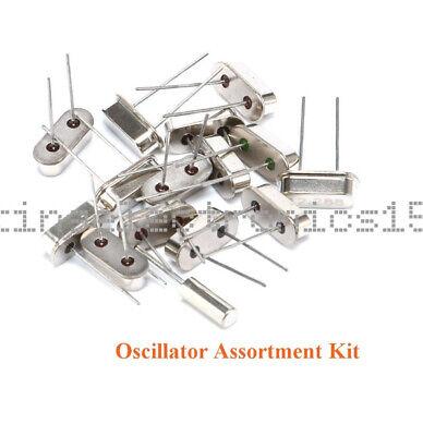 15pcs New Values Crystal Oscillator Assortment 4-48mhz Kit Set Dip Diy
