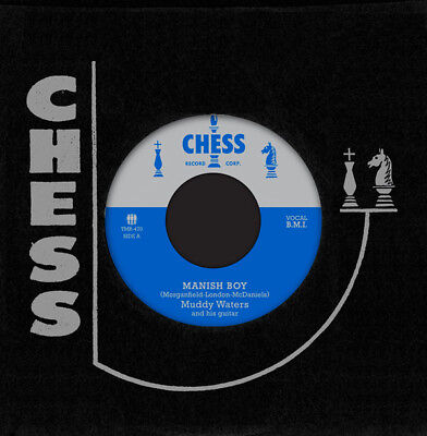 "MUDDY WATERS MANISH BOY - YOUNG FASHIONED WAYS 7"" VINYL SINGLE NEW CHESS RECORDS"