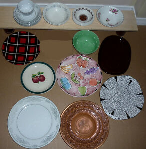 Dishes :  Variety as shown : Clean,SmokeFree, 20+ pieces .. Cambridge Kitchener Area image 2