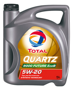 TOTAL QUARTZ 9000 FUTURE XT 5W20, 5L Bottle E130B Engine oil