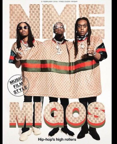 NME Magazine - 9th February 2018 - Migos Cover