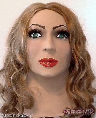 ASKE FRAU GESICHT WEIBLICH SISSY ZOFE MAID TV TS  (VMANAGRE) (Realistische Maske Weiblich)