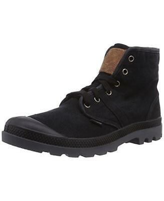 NIB PALLADIUM Pallabrouse LC Men's Ankle Chukka Hiking Boots Black/Castle Rock