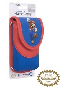Official Mario Protective Soft Case Pouch Sleeve For Nintendo 3DS/DS Lite/DSi
