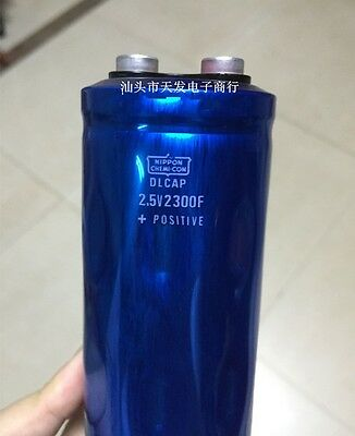 1pcs Ultracapacitor Super Capacitor 2.5v 2300f Car Capacitor 50x170mm E233 Yx