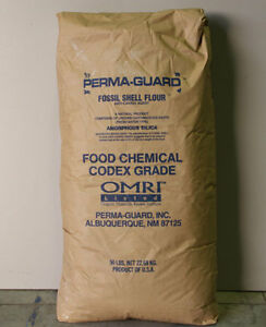 Perma-Guard Food Grade Diatomaceous Earth - One (1) 50 lb. Bag Cornwall Ontario image 2
