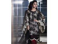 Pakistani Indian Asian Chiffon Clothes