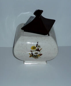 square fat Cookie / Trinket / Candy Jar . In excellent condition Cambridge Kitchener Area image 3