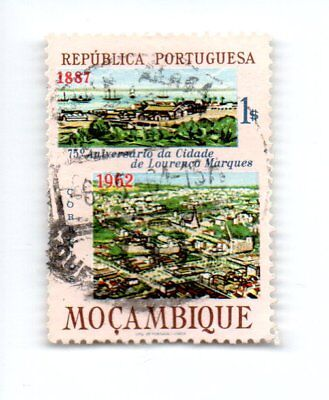 MOZAMBIQUE; 1962 The 75th Anniversary of Lourenco Marques 1S- USED