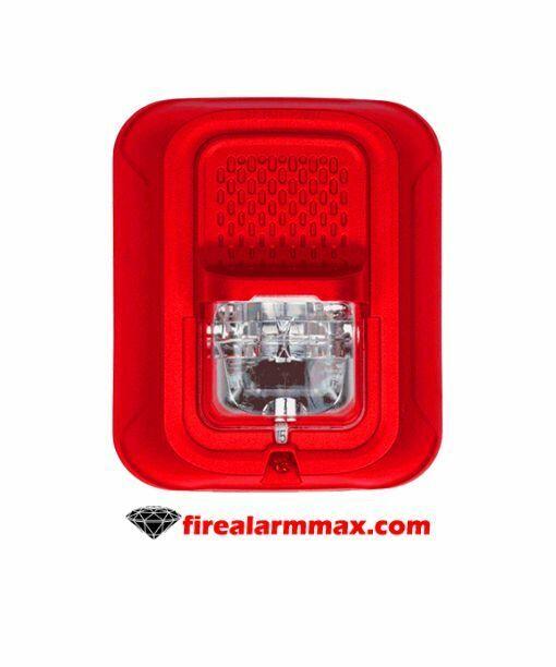 System Sensor SRL-P Strobe 2w Multi Cd Red