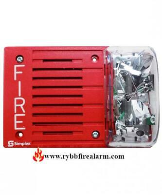 Simplex 4903-9253 Horn Strobe Red Free Shipping The Same Business Day
