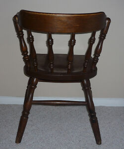 solid Wood Mates Chair :Very Sturdy : Very comfortable :As shown Cambridge Kitchener Area image 2