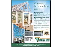 CONSERVATORY CLEANING, GUTTER CLEANING, CARPORT CLEANING PATIO CLEANING WINDOW CLEANING ETC ETC