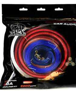 Car stereo subwoofer amplifier installation wiring kit - NEW