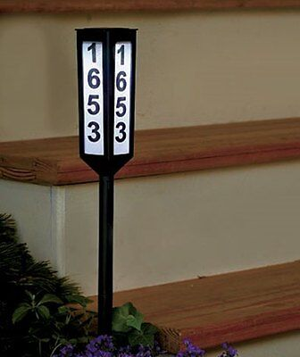 "24"" Solar Address Stake"