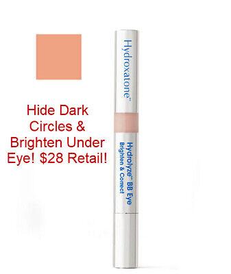 NIB Hydroxatone Hydrolyze BB Eye Brighten Dark Circles & Correct $28 Retail!