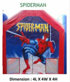 Spider-Man jumping castle hire  Acacia Gardens Blacktown Area Preview
