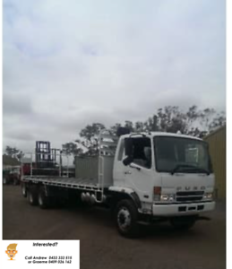 2007 Fuso FN 600 & M5 Moffet (Rent to own available)