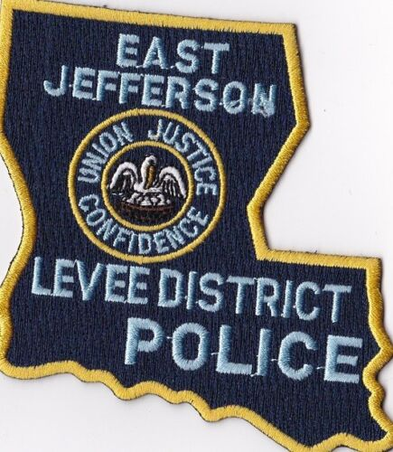 East Jefferson Levee District Police Patch Louisiana LA