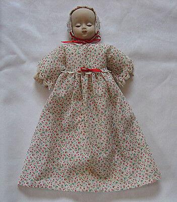 vintage LEE MIDDLETON DOLL-Small Baby Holding Bottle