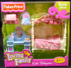 details about loving family dollhouse furniture kids bedroom new girls