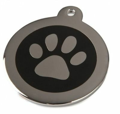 Energy Wellness Magnet Dog Collar Pendant Fine Steel Stainless Silver Colour