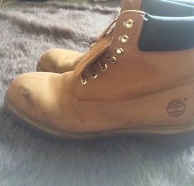 Mens size 10 1/2 timberlands
