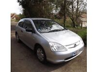 HONDA CIVIC 1.4 IMAGINE - SPARES OR REPAIR
