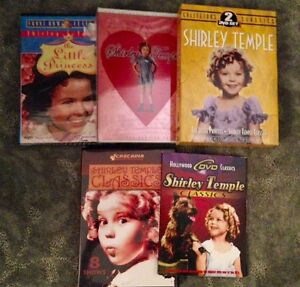 Shirley Temple DVD's ~ Lot of 5