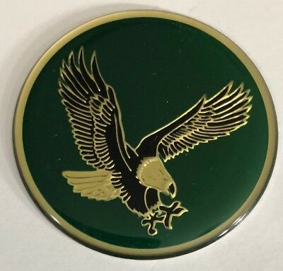 "4 New Green Center Cap Wheel Rim Emblems Logo Decals 49mm or 1 15/16"" Eagle Bird for sale  Shipping to Canada"