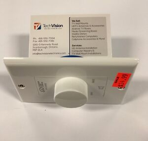 IN WALL / CELLING SPEAKER VOLUME CONTROLS WALL PLATES