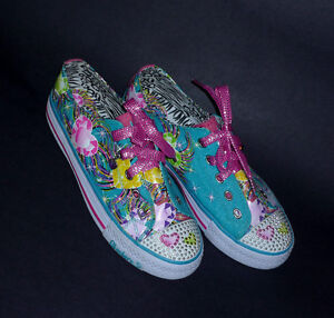 NEW pair of Flirty Flutter Running Shoes : Never Worn : Size 5 . Cambridge Kitchener Area image 2