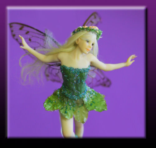 Tinkerbell Fairy - full instructions polymer doll press mold by Patricia Rose