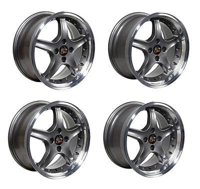 Ford Mustang Wheel Set, 17