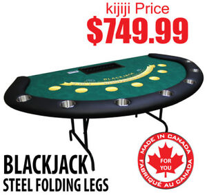 BLACKJACK TABLE 7 PLAYER GREEN DEALER PROFESSIONAL SERIES