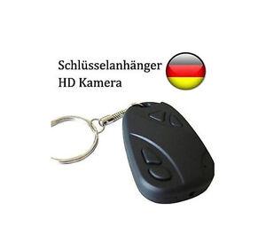 Mini Kamera Schlüsselanhänger HD 960p Spycam versteckt Car Key USB