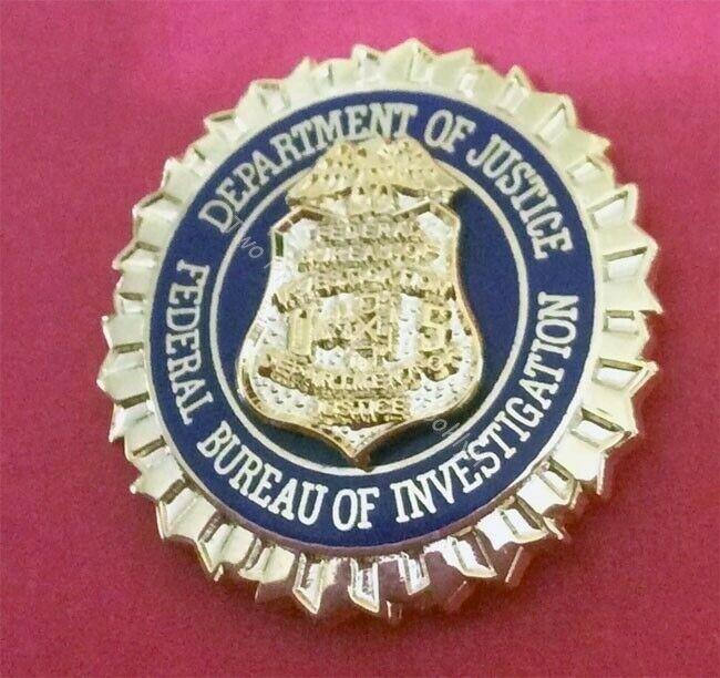 FBI VIP LAPEL PIN