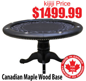 ROUNDERS POKER TABLE MADE IN CANADA PROFESSIONAL SERIES