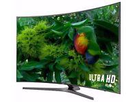 "SAMSUNG 49"". 49KU6500 CURVED ,ULTRA HD 4K HDR SMART FREESAT WIFI LED TV"