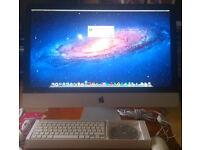 Apple iMac Aluminium, 27 Inch, Intel Core 2 Duo, 3.06 GHz, 1TB HD, 16GB RAM, EL Capitan (Like New)