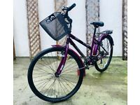 CHALLENGE MEANDER HYBRID WOMENS BIKE*6 SPEED*RIDES LOVELY*MUST SEE*CLEAN*
