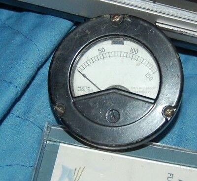Weston Model 2521 0-150 Meter