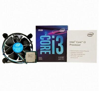 Intel Core i3-9100F Coffee Lake Refresh 3.6GHz 4Thread LGA1151 65W CPU Processor