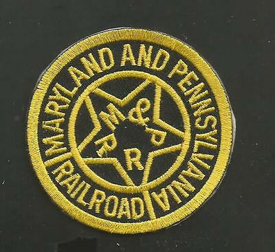 MARYLAND AND PENNSYLVANIA  RAILROAD  PATCH 2 1/2  ""