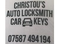 Vauxhall car keys