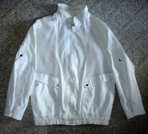 White Jacket by Niccolini  .. Exc Cond ... Size 7/8 ..