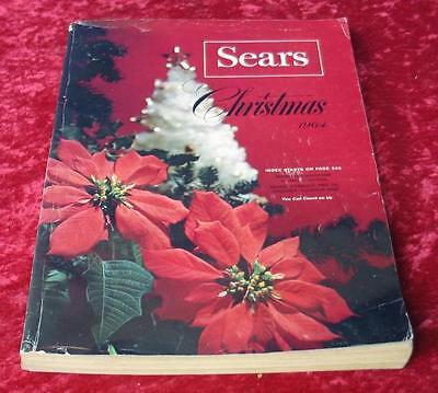 Vintage 1964 Sears Roebuck & Company Christmas Wishbook Catalog