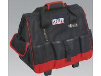 SEALEY AP511 TOOL STORAGE BAG ON WHEELS 470MM FOR PLANE TRAVELLING BOAT BAG