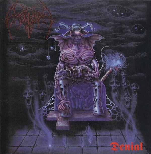 CREMATORY Denial Cd Death Metal Abhorrence Epitaph Carcass Grave demo Demigod